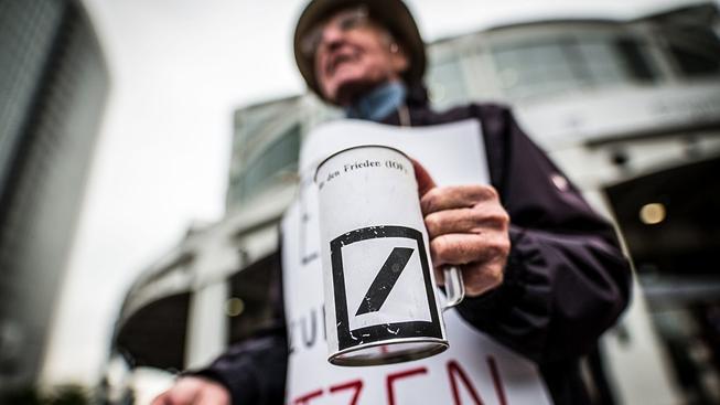 Potenciálně největší nedostatek kapitálu má Deutsche Bank, jak ukázala nejnovější studie německého institutu ZEW. Ilustrační snímek