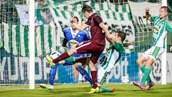 Pražské derby vyhrála Sparta nad Bohemians 2:0