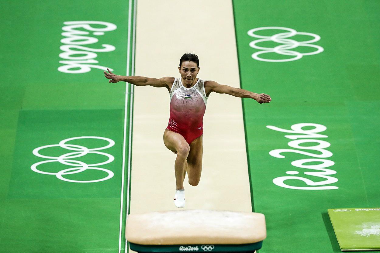 Gymnastika jen pro teenagerky? Legenda Čusovitinová válí na OH i ve 41 letech!