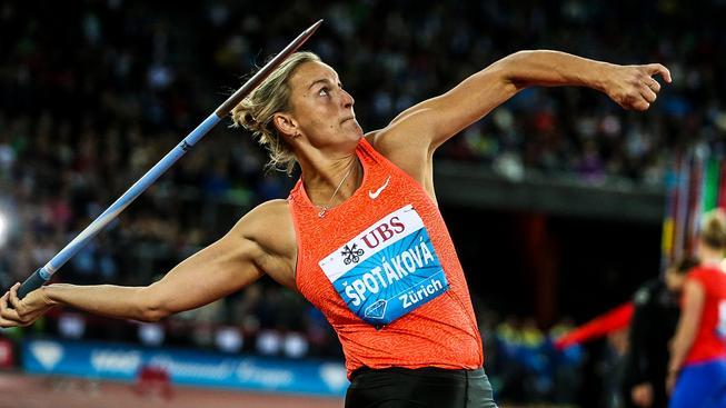 Kromě dvou olympijských medailí má Špotáková ve sbírce také tři cenné kovy z mistrovství světa