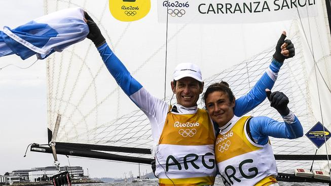 Lange šel ve šlépějích svého otce, který se rovněž věnoval jachtingu a v roce 1952 reprezentoval svou vlast na olympijských hrách v Londýně