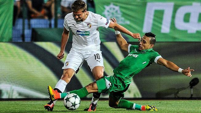 Viktoria Plzeň prohrála s Ludogorcem Razgrad 0:2