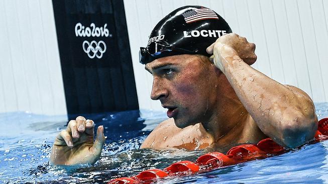 Lochte vybojoval v Riu zlatou medaili ve štafetovém závodě na 4x200 metrů volným způsobem
