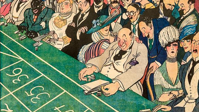 Monako otevřelo první kasino v roce 1856. Ilustrační snímek