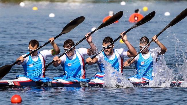 Čtyřkajak vybojoval pro českou výpravu už devátou medaili, z toho sedmou bronzovou