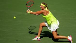 Petra Kvitová prošla do třetího kola US Open přes Turkyni Caglu Büyükakcayovou
