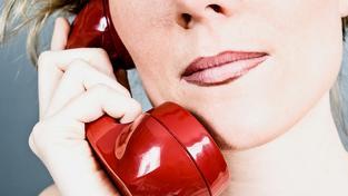 Sex po telefonu je překvapivě stále ještě výdělečná služba. Ilustrační snímek