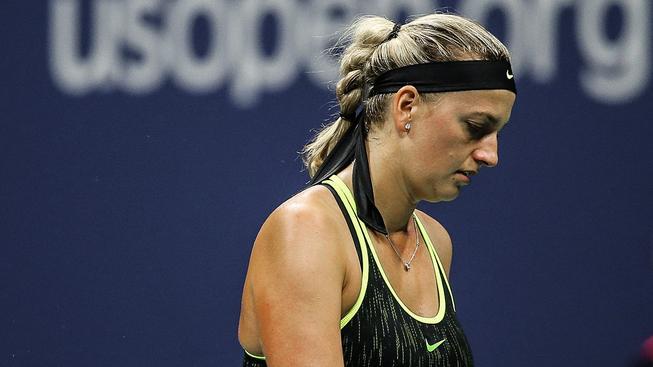 Petra Kvitová si čtvrtfinále US Open nezahraje