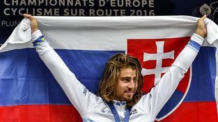 Slovenská cyklistická hvězda Peter Sagan
