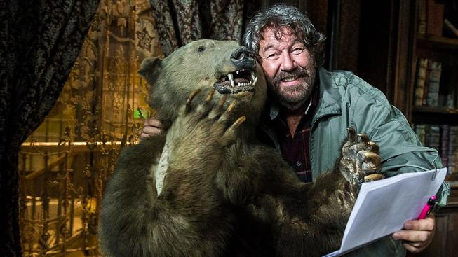 Zdeněk Troška s medvědem - tento sice není ruský, ale příště kdoví...Ilustrační snímek