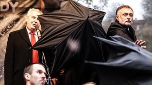 Od vajíčkového protestu proti Zemanovi na pražském Albertově dost přituhlo