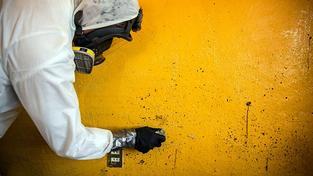 Donovan Tavera je jediným mexickým forenzním čističem