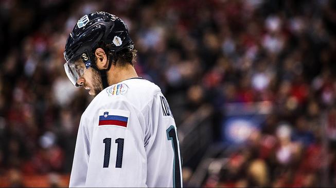 První finálový zápas Výběr Evropy s Kanadou prohrál