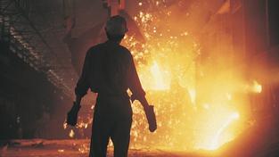 Levná čínská ocel drtí evropské hutě. Česko ale tlaku z Asie odolává. Ilustrační snímek