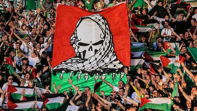"""Kvůli !palestinskému choreu"""" choreu svých fanoušků musí Celtic Glasgow zaplatit vysokou pokutu"""