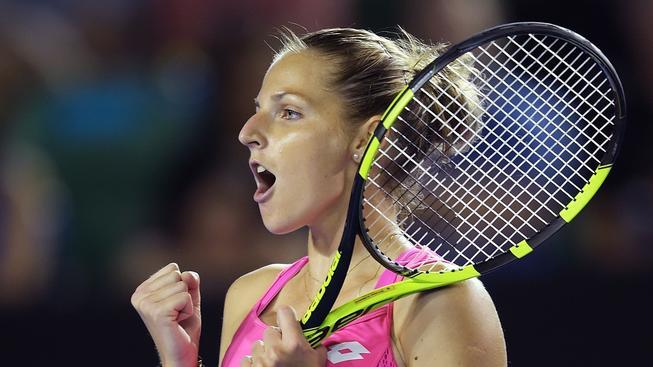 Kristýna Plíšková má důvod k radosti. Poprvé v životě může slavit vítězství na turnaji WTA