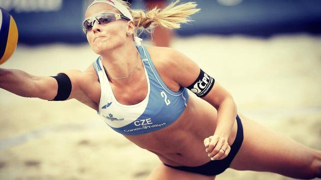 Česká plážová volejbalistka Markéta Sluková Nausch plánuje účast na další letní olympiádě