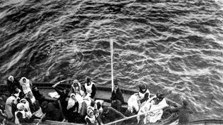Jeden ze záchranných člunů z Titaniku, na kterém mohl být i Čech Viktor Havla