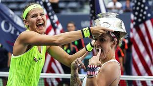 Takhle děvčata řádila po vítězství na US Open