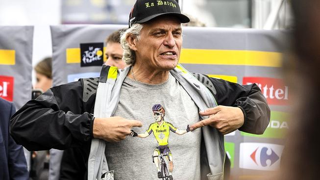 Tinkov v triku se Saganem, se kterým se letos dost hádali, ale nakonec si to vyříkali