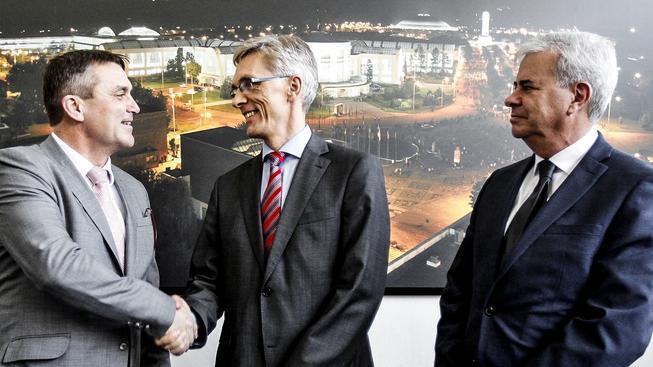 Brněnský primátor Petr Vokřál koupil od německých majitelů zadlužené Veletrhy za stovky milionů korun