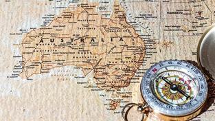 Zahoďte všechny mapy, Austrálie je na nich zakreslena špatně. Ilustrační snímek