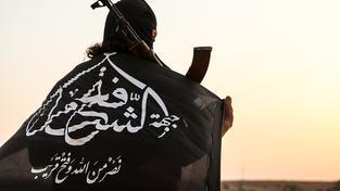 Bojovník Fronty dobytí Sýrie, dříve an-Nusry