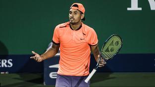 ATP tvrdě potrestala skandální chování australského mladíka na turnaji v Šanghaji