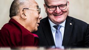 Dalajláma s Hermanem