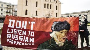 Server StopFake chce odhalovat propagandu spojenou hlavně s konfliktem na východě Ukrajiny. Ilustrační snímek