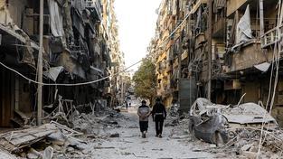 Halab je už téměř srovnaný se zemí