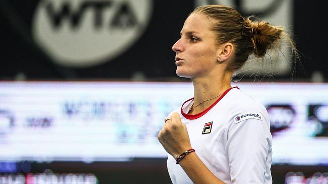 Karolína Plíšková ladila formu a podle trenéra ji čeká dobrý zápas