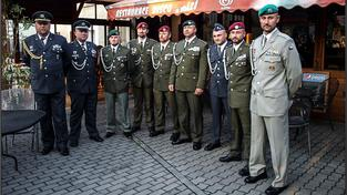 Váleční veteráni vyznamenaní během akce v Kojetíně