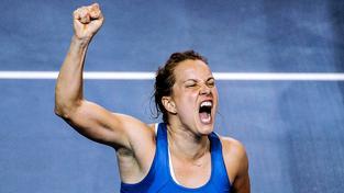 Barbora Strýcová měla z vítězství pochopitelně velkou radost