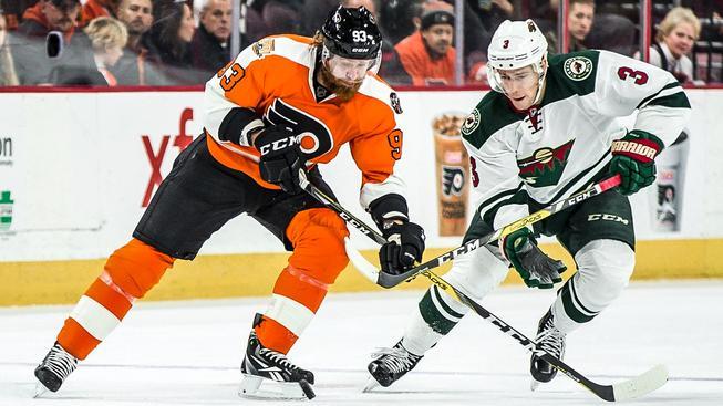 Jakub Voráček se proti Minnestotě gólově prosadil už v sobotu, ale branku mu vedení NHL uznalo až v úterý