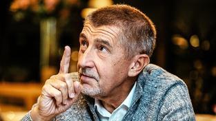 Ministr financí a majitel Agrofertu Andrej Babiš