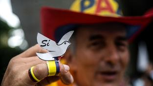 Zastánců mírové dohody s FARC není v Kolumbii málo