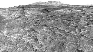 Na Marsu je obrovská podzemní zásoba vodného ledu, která se nachází jen pár metrů pod povrchem