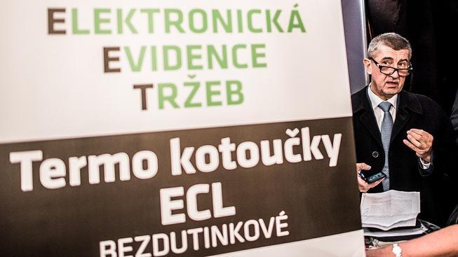 Andrej Babiš a jeho EET