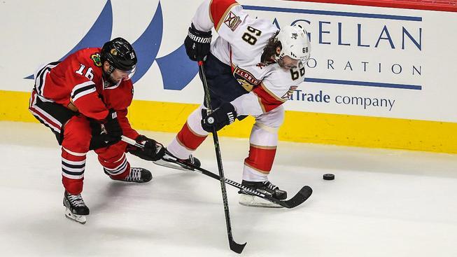 Jaromír Jágr si proti Chicagu připsal gól i svůj 1652. start v NHL