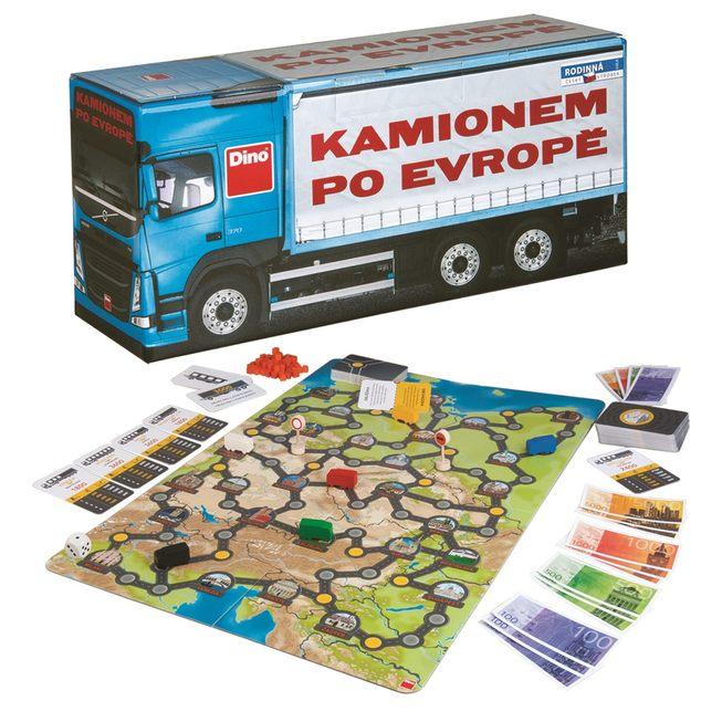 Kamionem po Evropě_komplet_2_archiv Dino Toys
