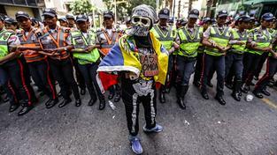 Protest proti Madurovi
