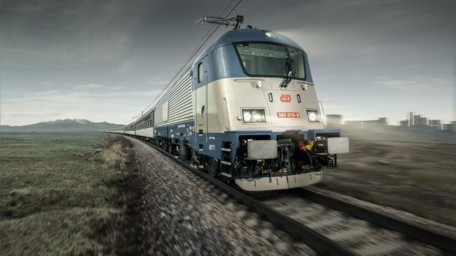 Lokomotiva Škodovky. Ilustrační snímek