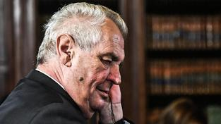 Miloš Zeman se podívá do Bílého domu