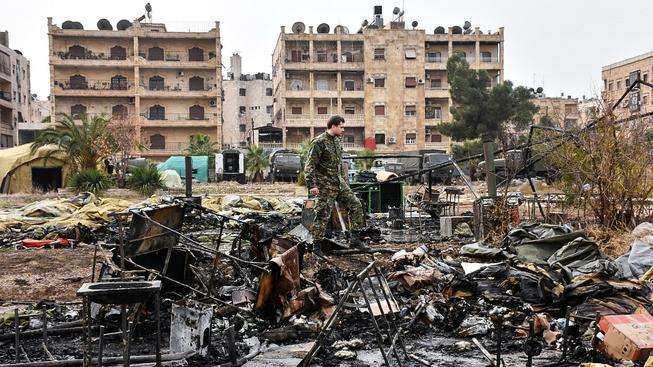 Syrská armáda dobyla centrum Aleppa