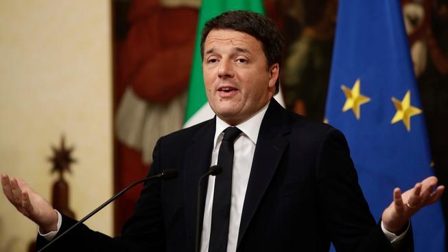 Italský premiér Matteo Renzi podal demisi