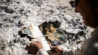Spálená kniha v troskách Mosulu