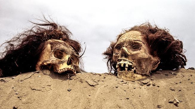Archeologické naleziště poblíž peruánské Limy