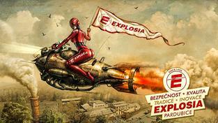 Z oficiálního Facebooku společnosti Explosia