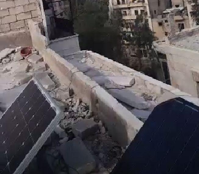 střecha solární panely